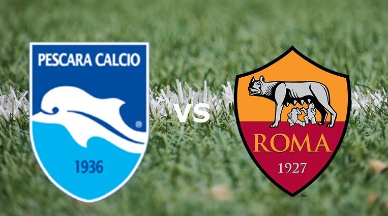 Pescara Roma streaming su siti web, Roja
