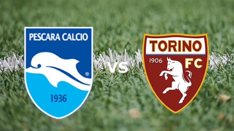 Torino Pescara streaming live gratis per
