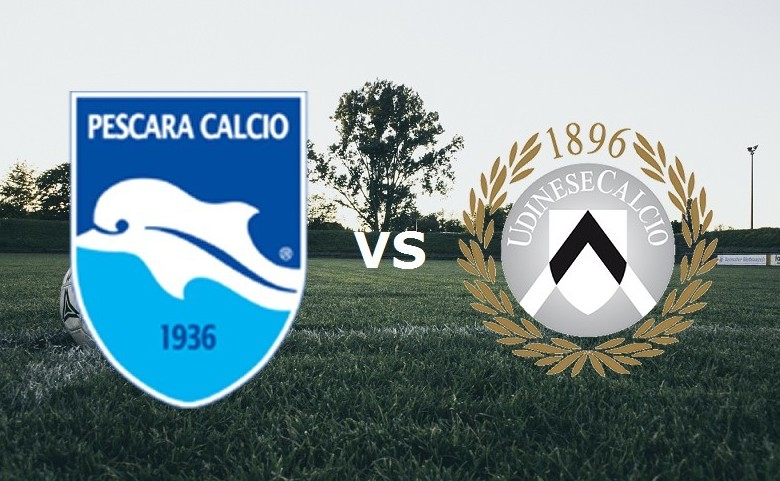 Pescara Udinese streaming gratis live. V