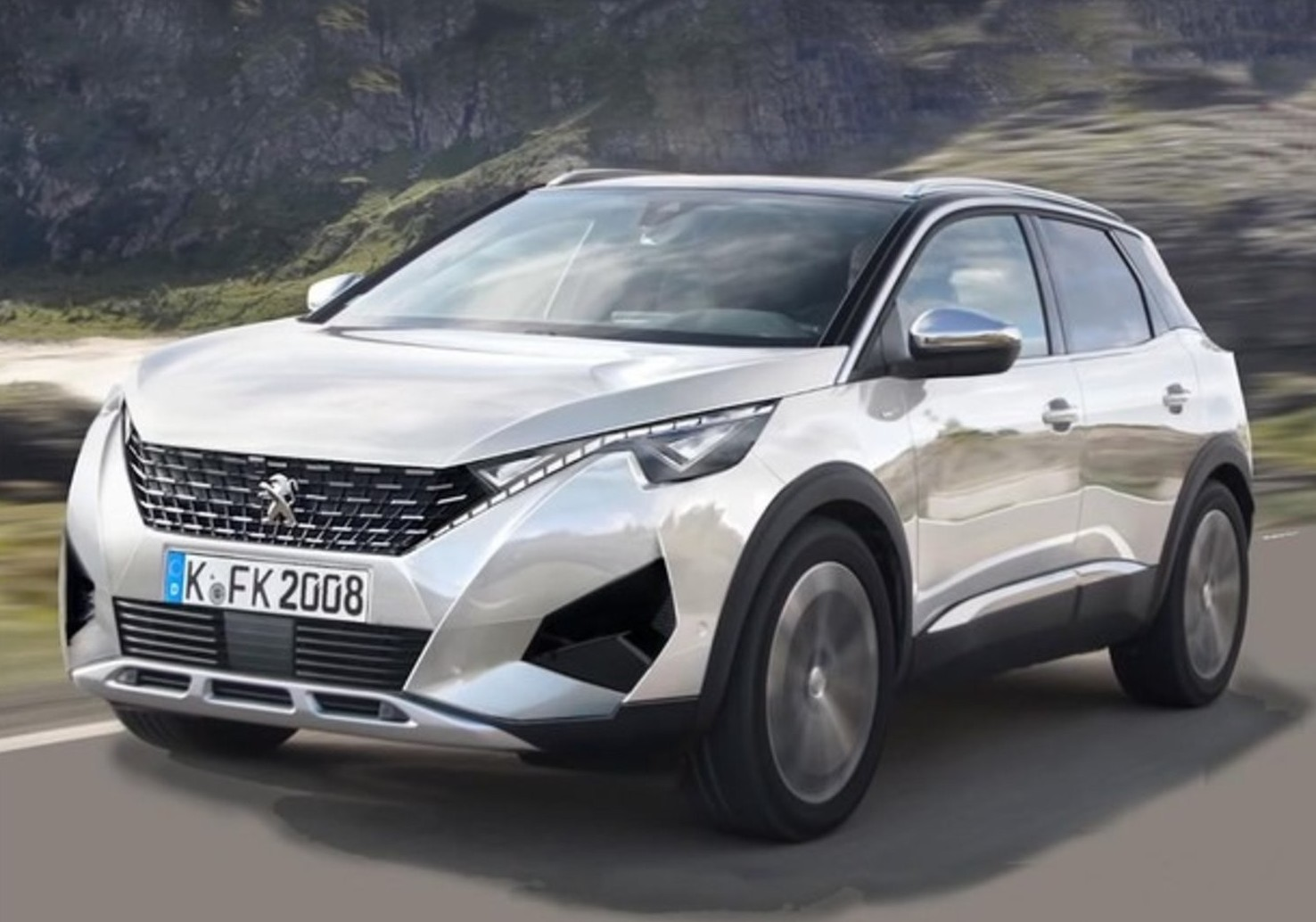 Peugeot 2008 2019 prezzi listino, dimens