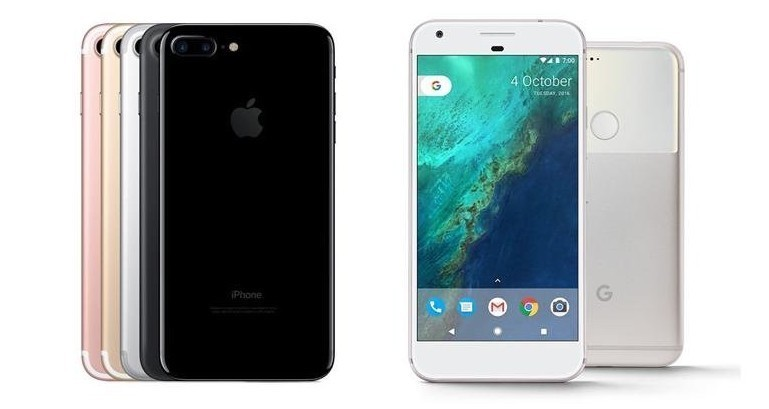 Nuovi cellulari Google Pixle 2 e Pixel X