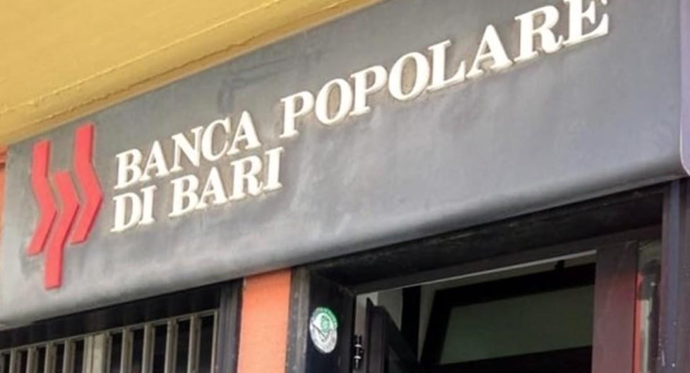 Popolare di Bari: rischio fallimento, Ba