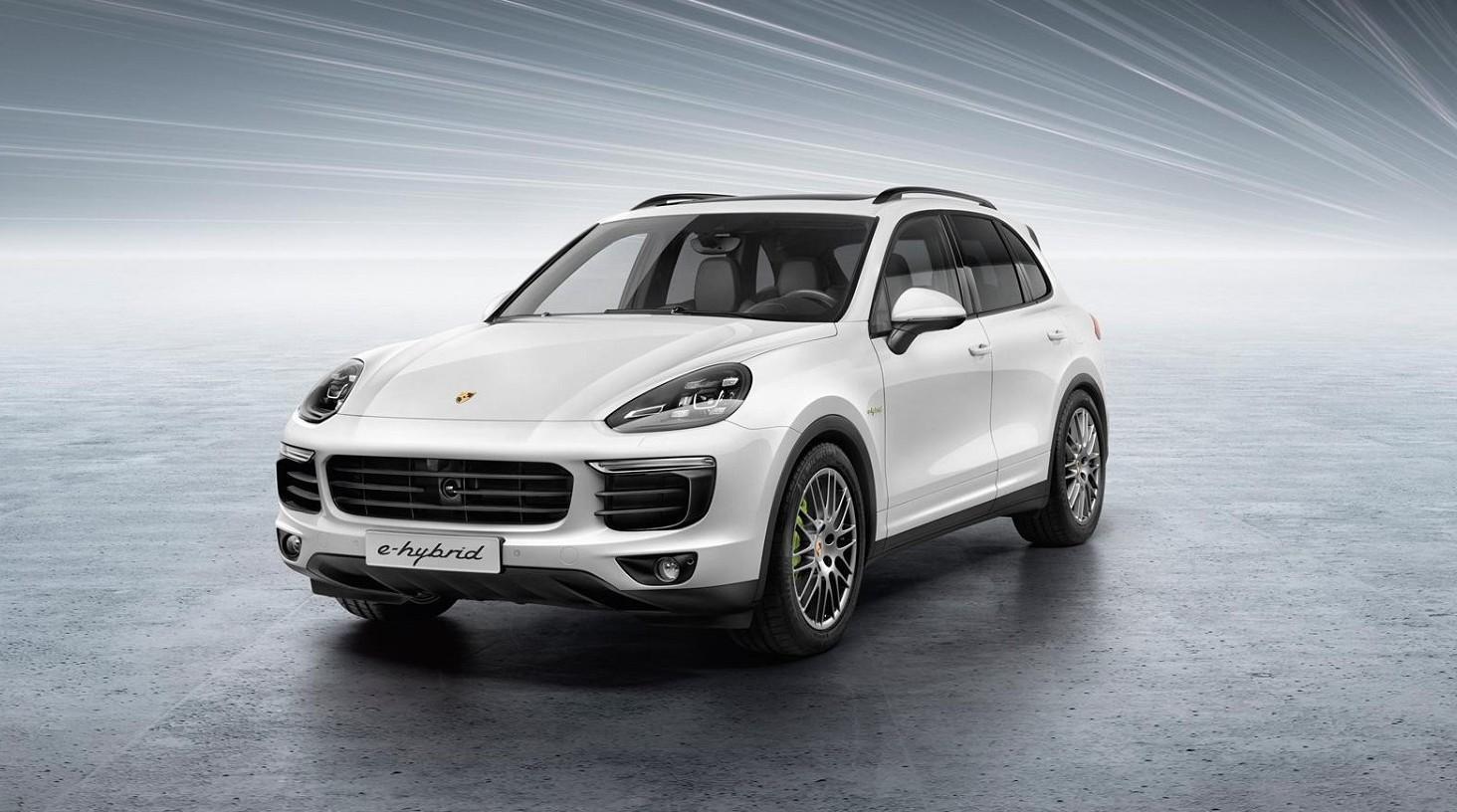 Porsche Cayenne E-Hybrid, il nuovo Suv