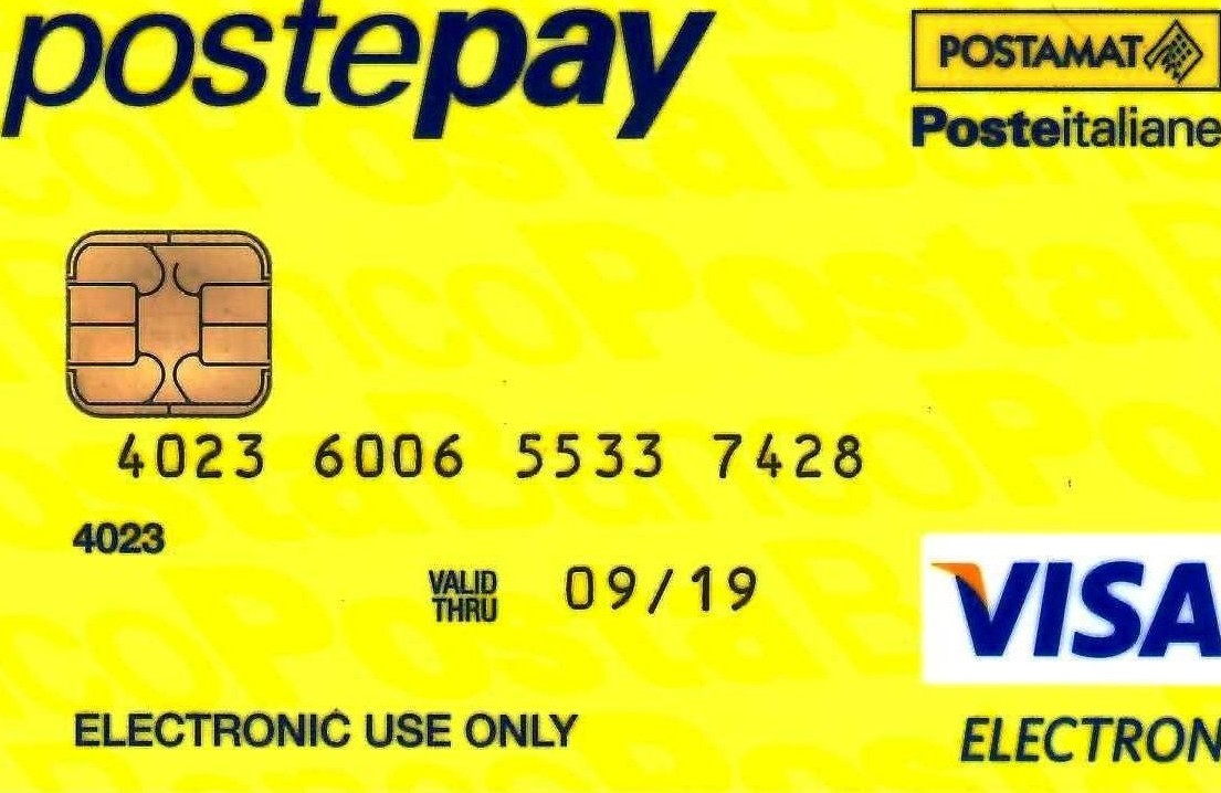 Postepay: sicurezza carte prepagate Post