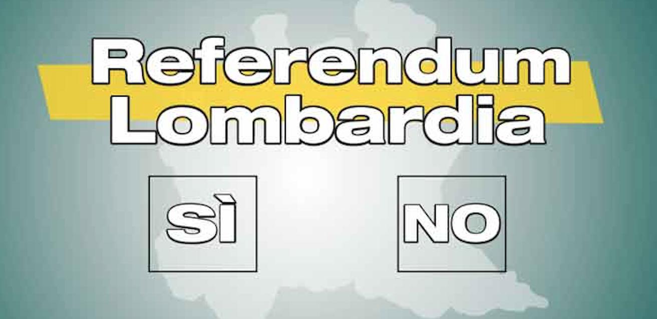 Referendum autonomia Lombardia: se vince