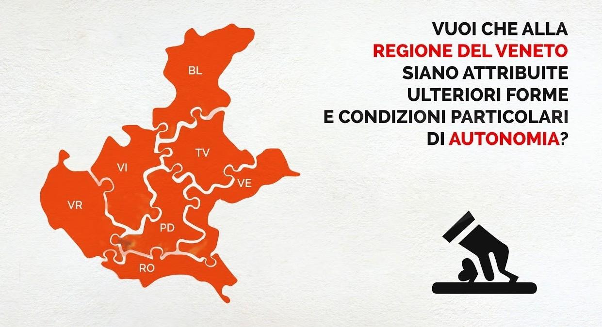 Referendum autonomia Veneto: affluenza,