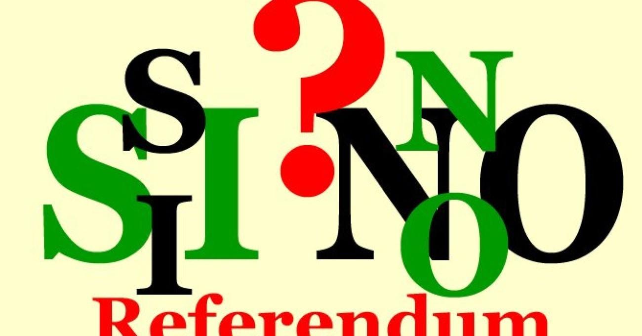 Referendum sì e no, sondaggi incerti agg
