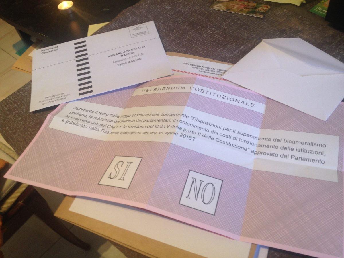 Referendum sondaggi costituzionali chi v