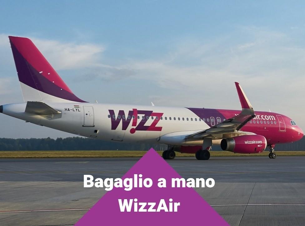 Regole dimensioni bagaglio WizzAir 2019: