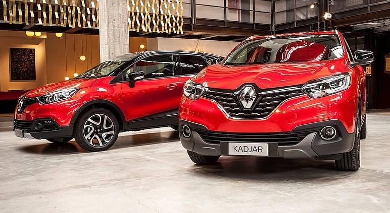 Renault Captur, Kadjar, Scenic  prezzi p