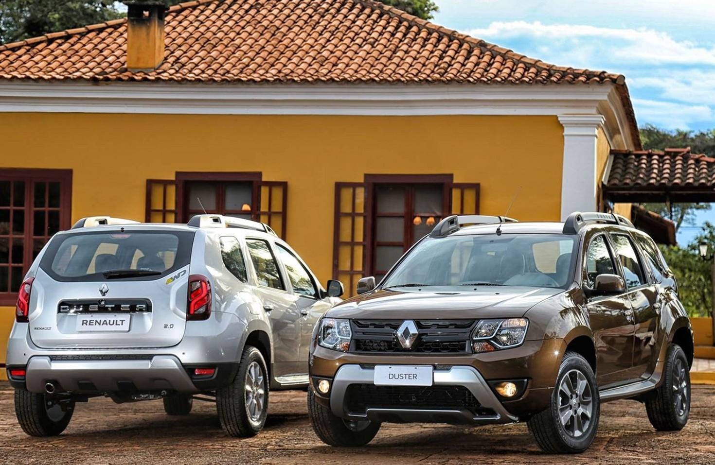 Renault Kadjar 2019 e Dacia Duster 2019