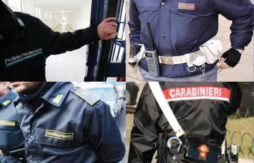 Rinnovo contratti forze dell'ordine,bonu