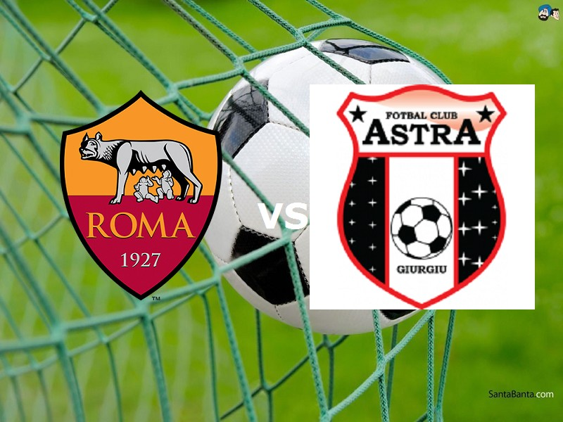 Partite in streaming Astra Giurgiu-Roma