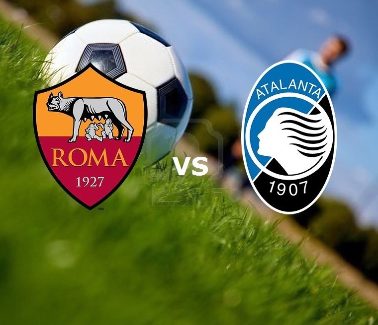 Roma Atalanta streaming gratis live. Ved