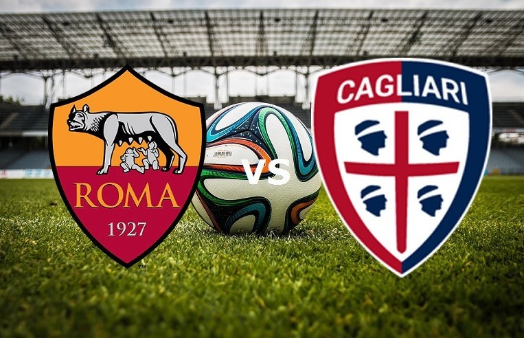 Roma Cagliari streaming gratis live. Dov