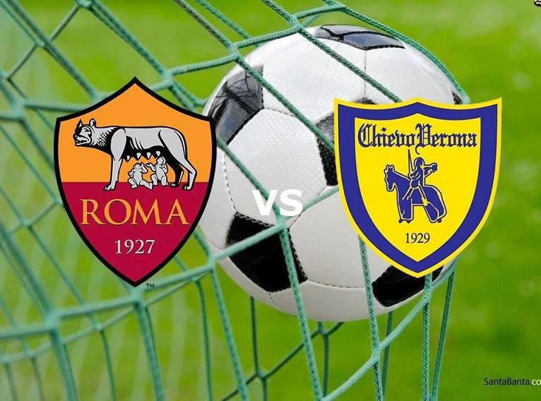 Roma Chievo streaming live gratis dirett
