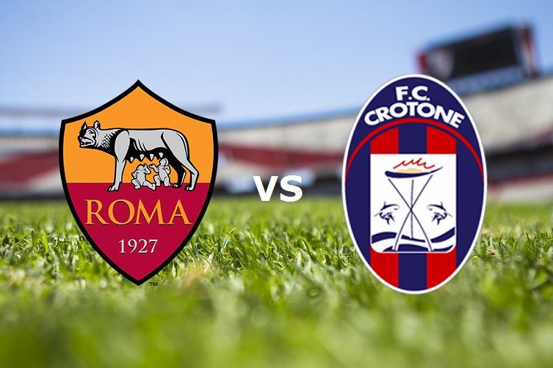 Roma Crotone streaming live gratis. Vede