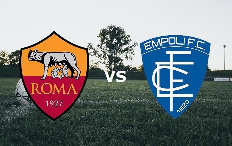 Roma Empoli streaming live gratis. Veder