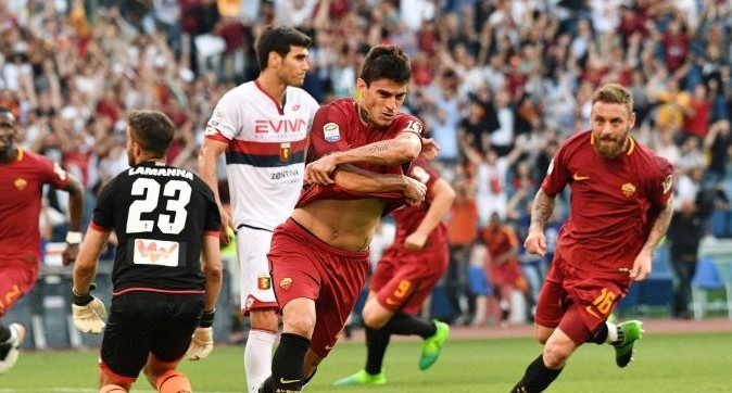 Roma Genoa streaming ora gratis live. Co