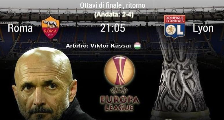 Roma Lione in streaming adesso su link,
