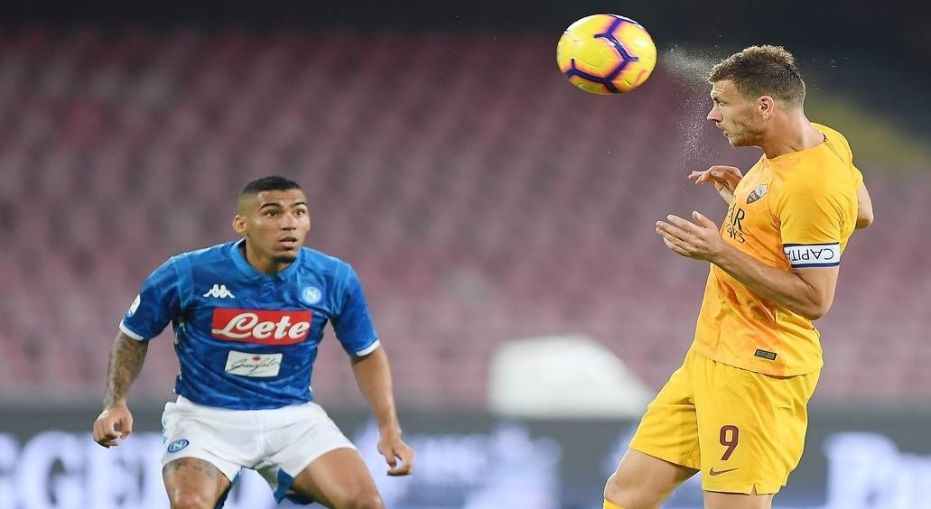Roma Napoli streaming live gratis partit