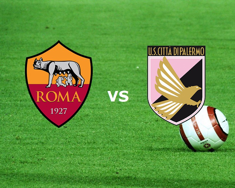 Roma Palermo streaming live gratis per v