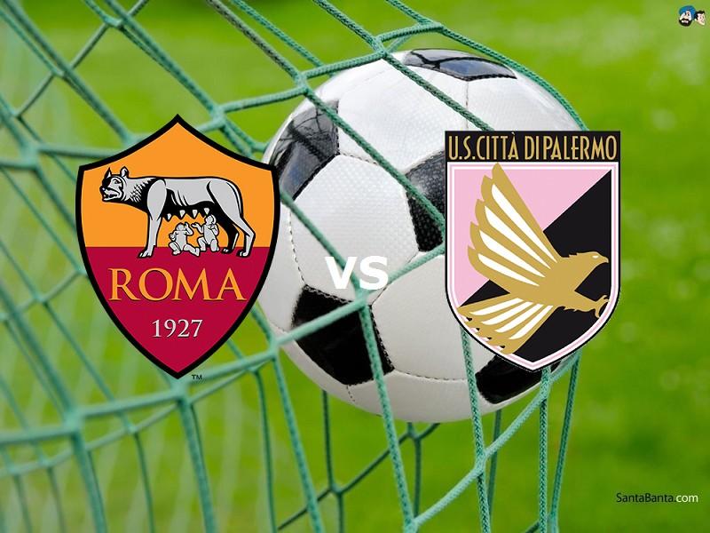 Roma Palermo streaming gratis live migli