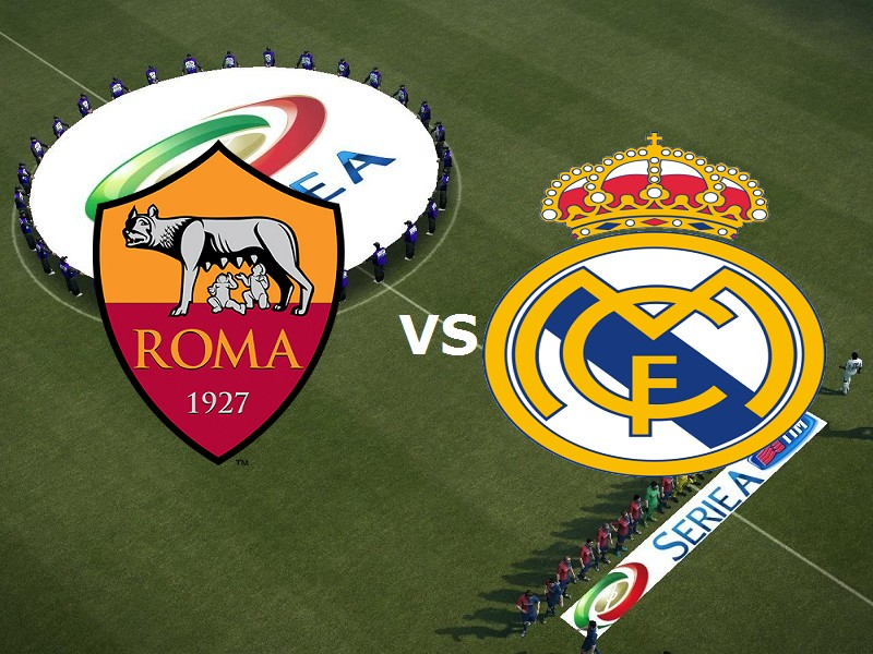 Roma Real Madrid streaming live gratis d