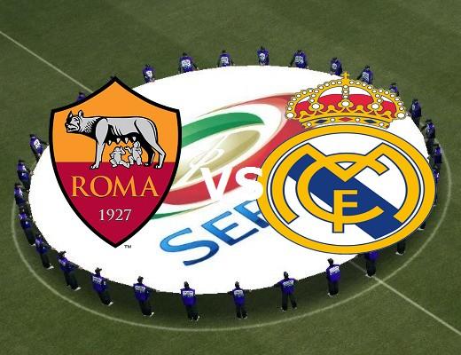 Roma Real Madrid streaming gratis stream
