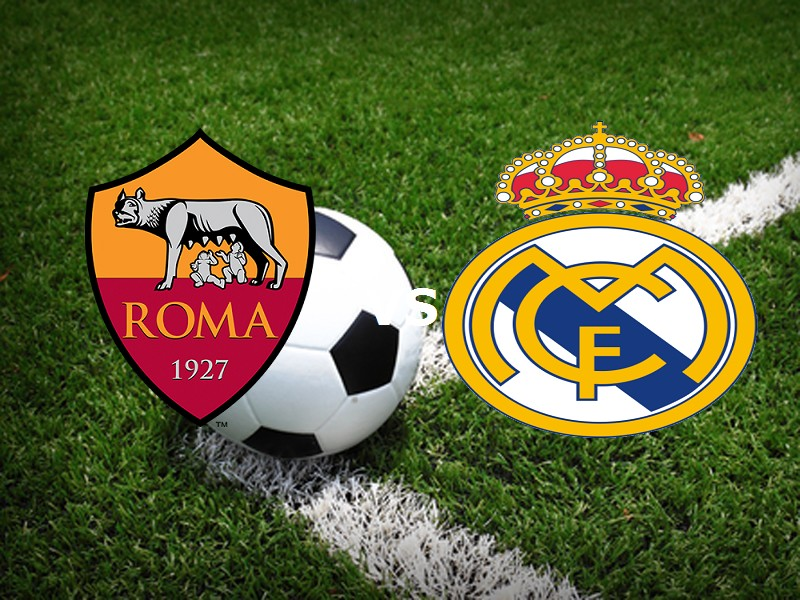 Vedere Roma Real Madrid streaming live g