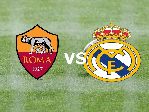 Roma Real Madrid streaming live gratis.