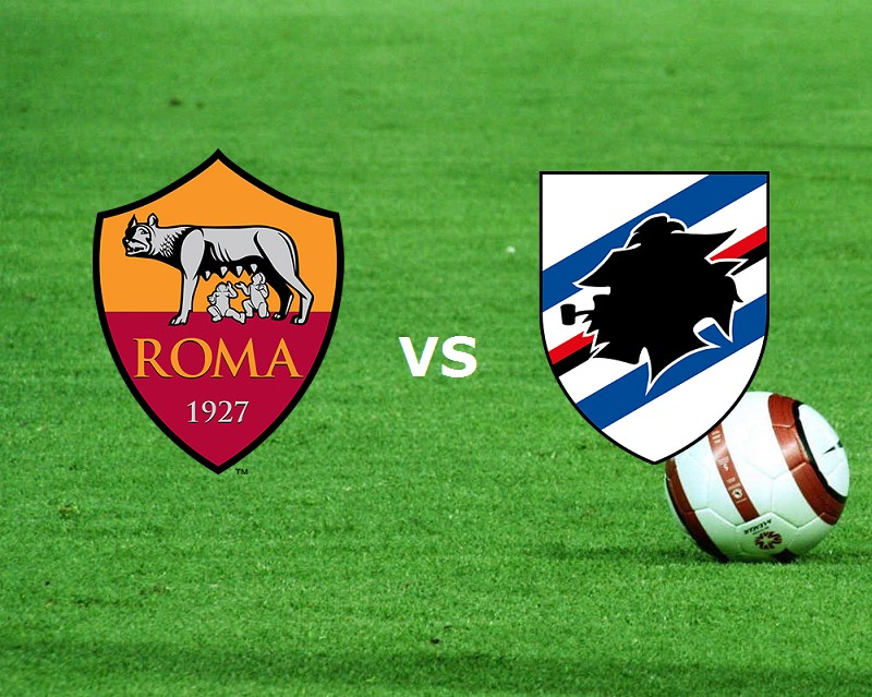 Sampdoria Roma streaming gratis live su