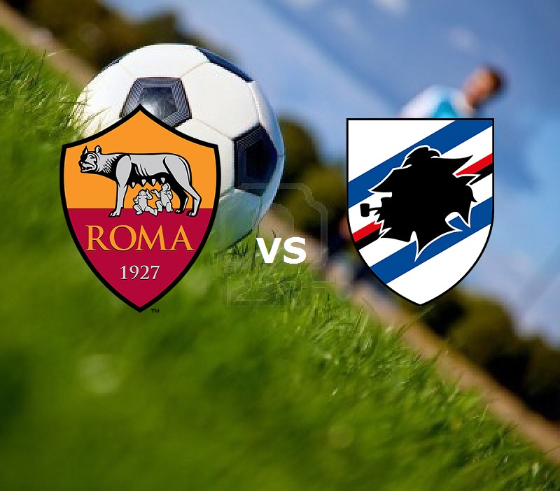 Roma Sampdoria streaming gratis live. Ve