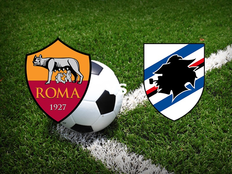 Roma Sampdoria streaming live gratis lin