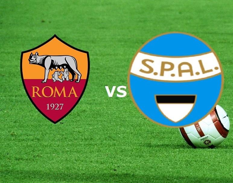 Roma SPAL streaming live gratis diretta