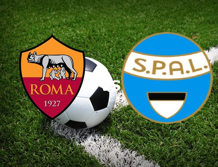 Roma SPAL streaming partita Serie A oggi
