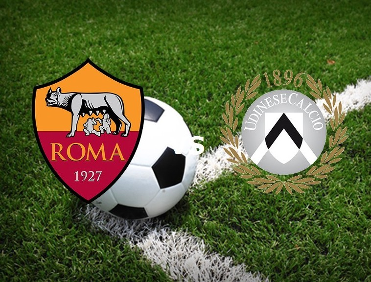 Roma Udinese streaming gratis live. Vede