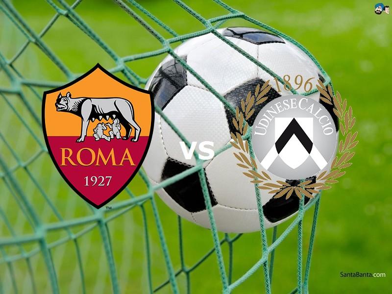 Roma Udinese streaming gratis live. Vede