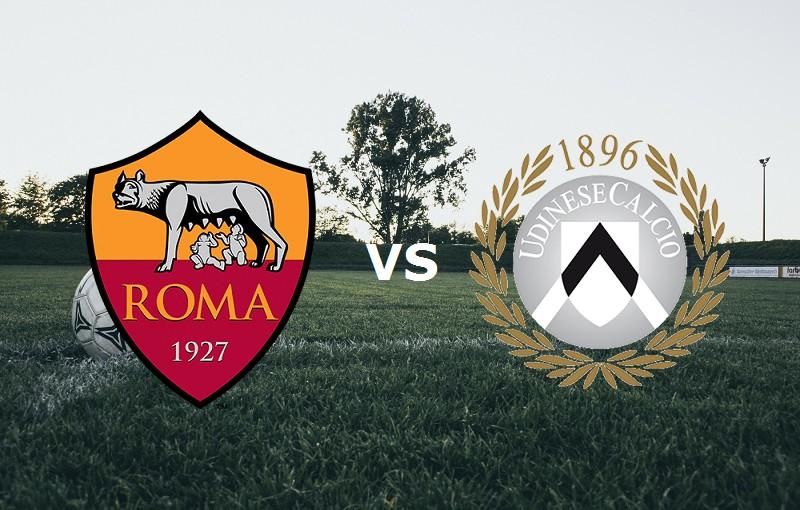 Roma Udinese streaming live gratis link,