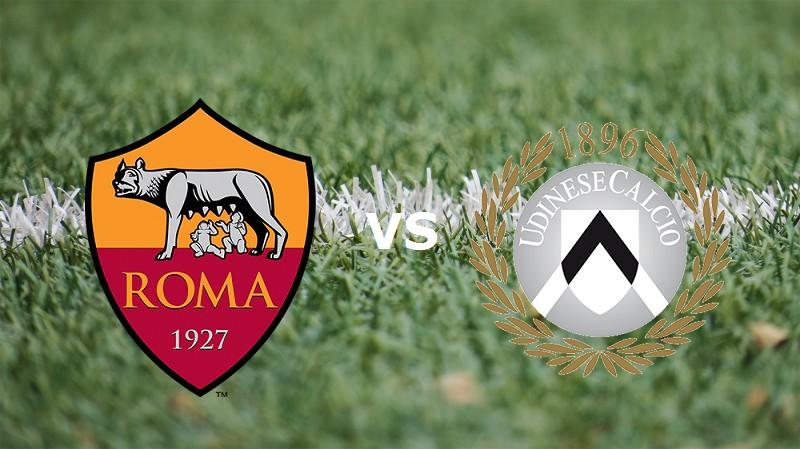 Roma Udinese streaming gratis live diret