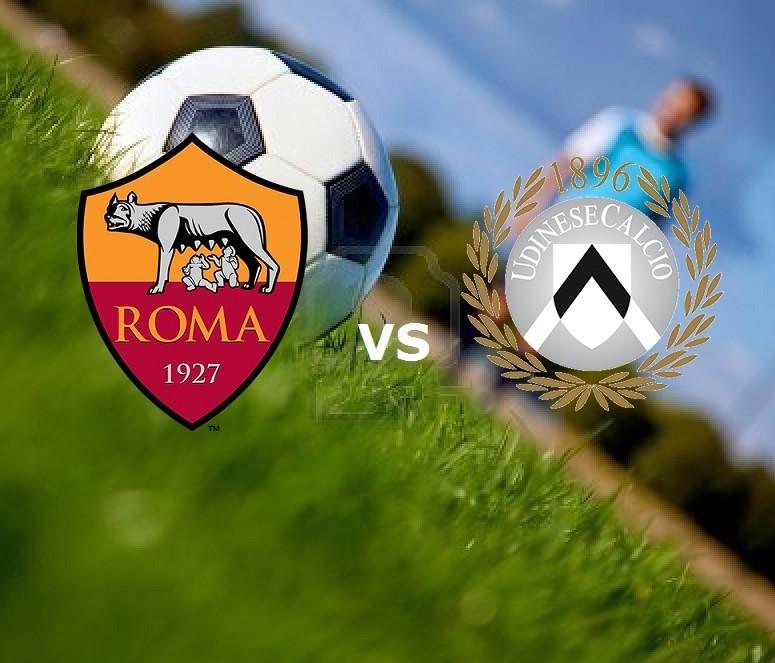 Roma Udinese streaming live gratis diret