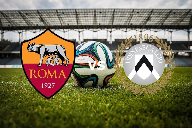 Roma Udinese streaming gratis live e dov