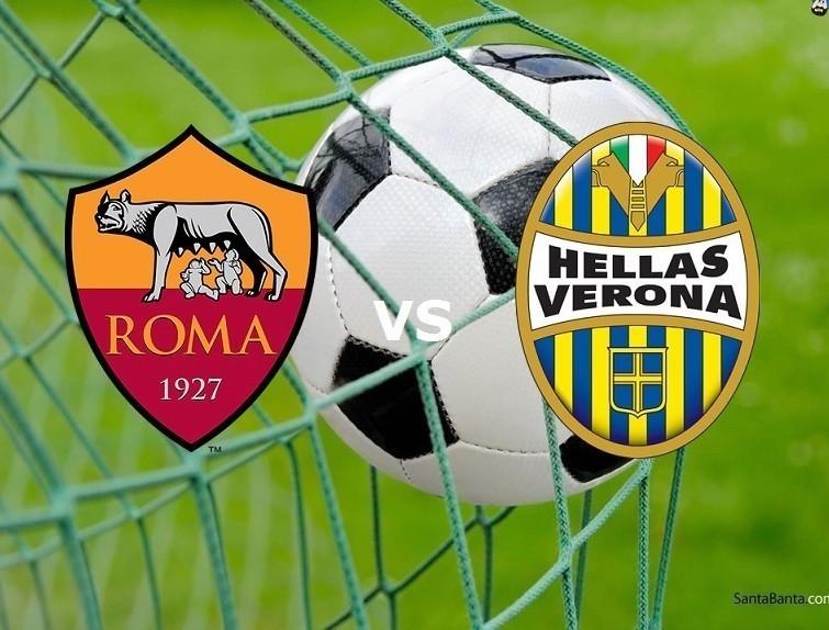 Roma Verona streaming live gratis dirett