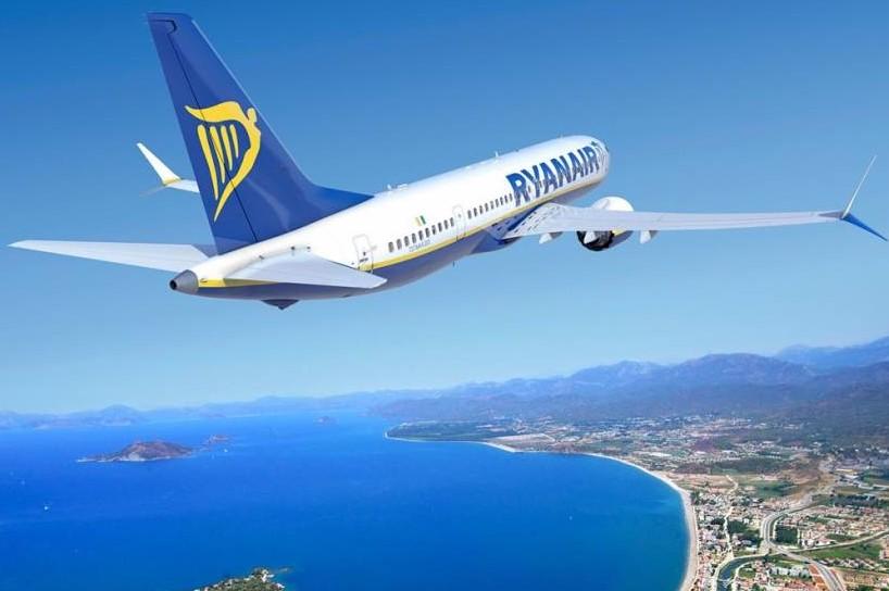 Ryanair annuncia voli e destinazioni ine