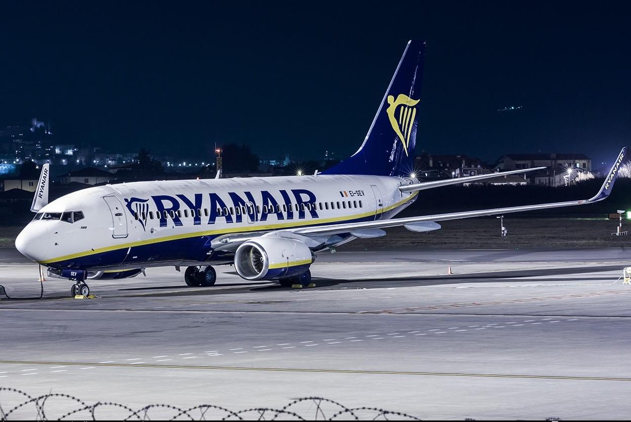Ryanair, emergenza sul Milano-Palermo e