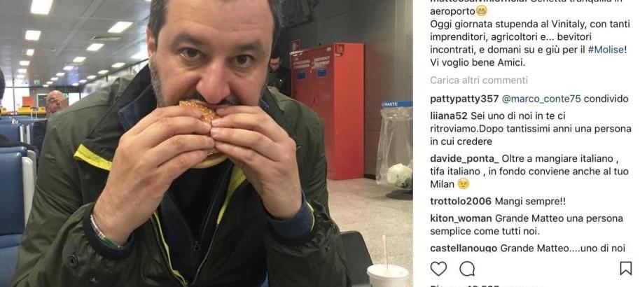 Salvini, rilancia cibo italiano partecip