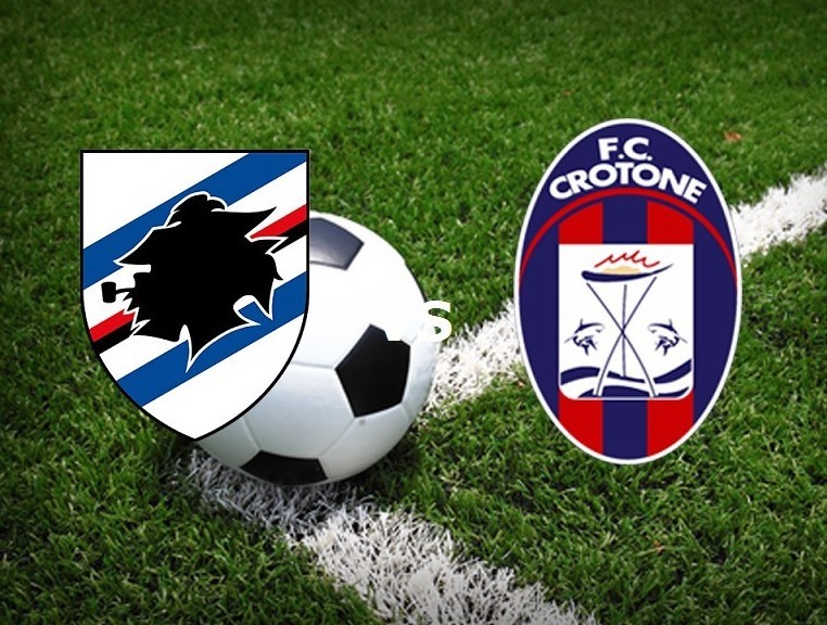 Sampdoria Crotone streaming live gratis.