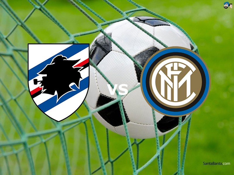 Sampdoria Inter streaming live gratis li