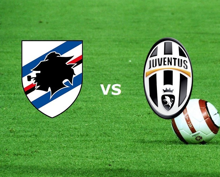 Sampdoria Juventus streaming su siti, li