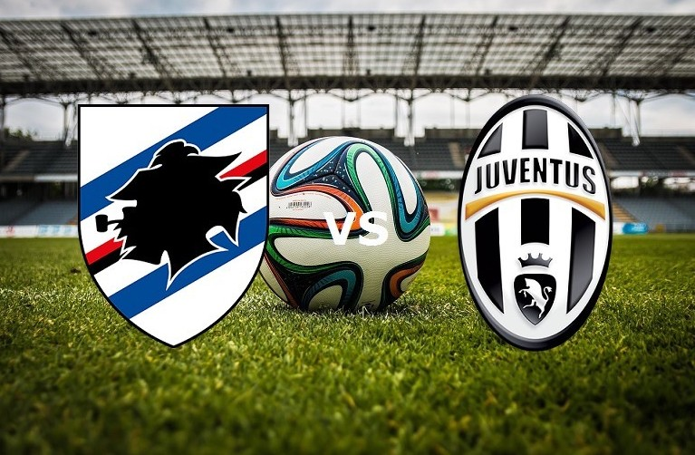 Sampdoria Juventus streaming live gratis